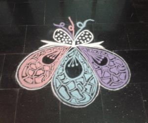Rangoli: Newyear spl rangoli 2