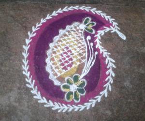 Rangoli: Margali roangoli