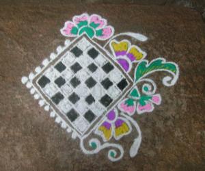 Rangoli: today rangoli