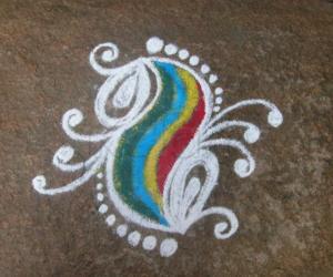 Rangoli: friday rangoli 7