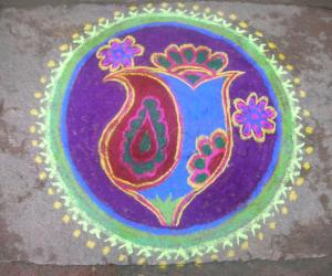 Rangoli: bogi rangoli