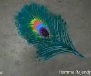 Peocock feather