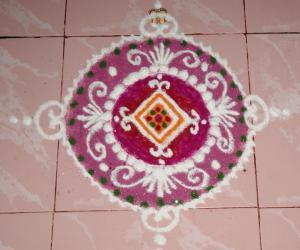 Sanskar Bharathi Rangoli