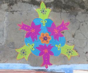 diwali rangoli 2013