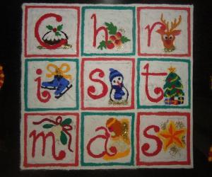 Rangoli: Merry Christmas