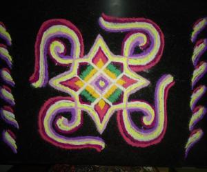 Rangoli: Twist and Twirl