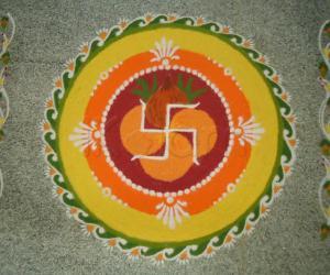 Rangoli: Gudi Padwa & Ugadi Special Wishes