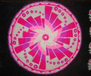 Rangoli: Pink Fusion