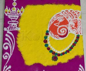 Rangoli: Lord ganesh rangoli
