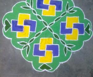 Rangoli: Margazhi Rangoli 3