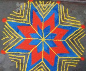 Rangoli: Margazhi Rangoli 2