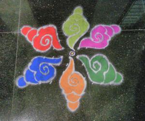 Rangoli: Margazhi Kolam # 7