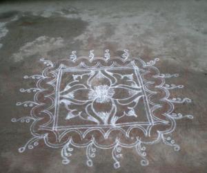 Rangoli: margazhi kolam 7