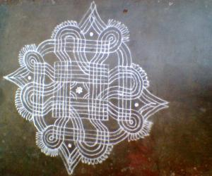 Rangoli: kanya kolam
