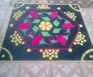 Rangoli: Competition kolam