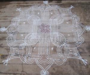 Tamil Puthandu kolam