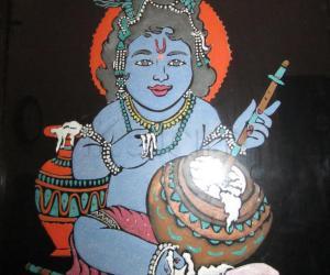 Rangoli: vennai krishnan