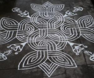 INSPIRATION KOLAM-BASIC DESIGN