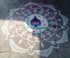 Rangoli: Happy Hina matsuri