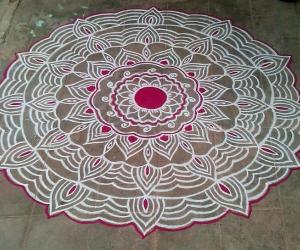 Rangoli: Welcome Aadi :)