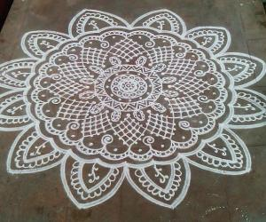Happy birthday spl kolam