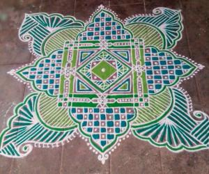 Rangoli: Navratri 2014-day 2