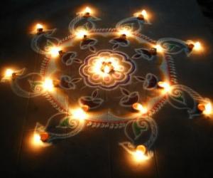 Rangoli: Karthigai Spl Kolam-2