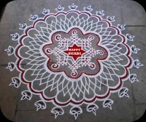 Rangoli: Ugadi Special Rangoli