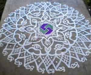 Freehand Rangoli