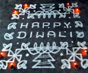 Rangoli: Diwali kolam-2