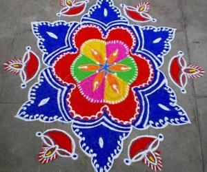 Rangoli: DIWALI RANGOLI-4