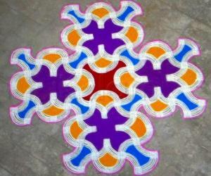 Tamil new year special kolam