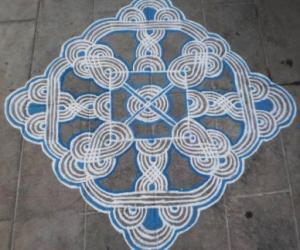 Rangoli: NAVARATHRI DAY-7
