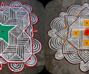 Thai 1st and 2nd velli kolams