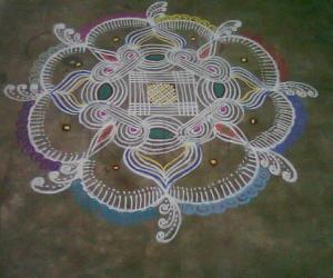Rangoli: Margazhi Kolam 2