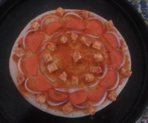 Rangoli: Pizza Rangoli
