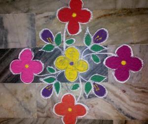 Rangoli: MARGAZHI DAY22