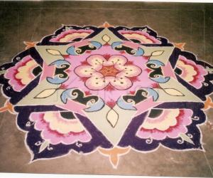Rangoli: Rainbow Fan