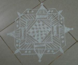 Rangoli: Mandana Rangoli