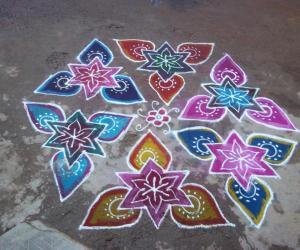 Rangoli: My Bogi Kolam