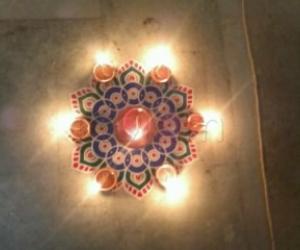 Rangoli: Deepam Festival