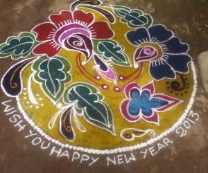 New Year Kolam