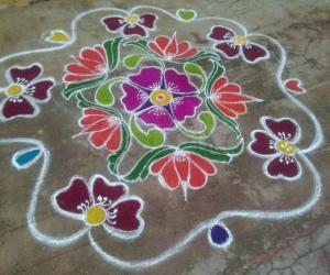 Rangoli: Kaanum Pongal