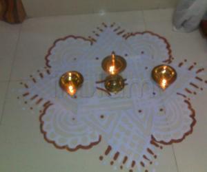 Rangoli: Kartigai Kolam