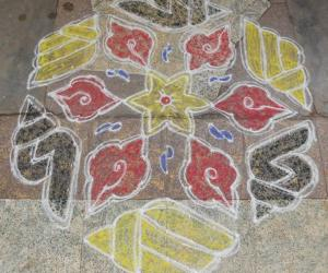 Rangoli: Puratasi Last Saturday