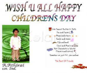 Rangoli: CHILDRENS DAY 2011