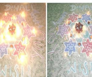 Diwali Day Celebration rangoli
