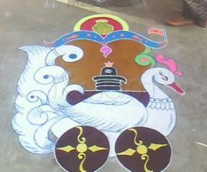 Rangoli: CAR FESTIVAL SPL 2012