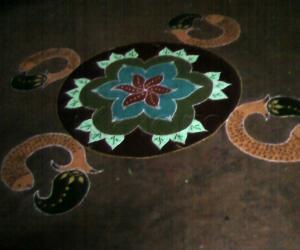 Rangoli: margazhli special