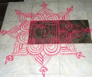 Rangoli: Bharani / Annamalai Deepam - 2012